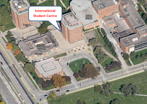 Location of ISC in Laurier Hall