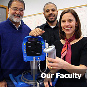 A group of three Kinesiology faculty members