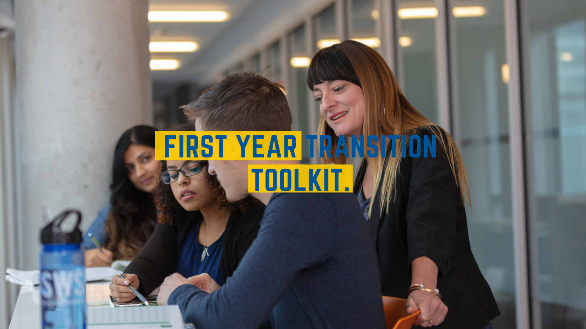 Link to the First Year Transition Toolkit website