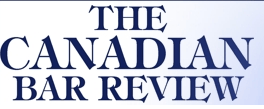 Canadian Bar Review logo