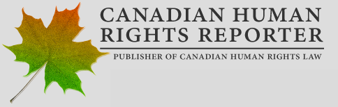 Canadian Human Rights Reporter Logo