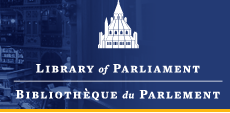 Library of Parliament / Bibliotheque du Parlement logo
