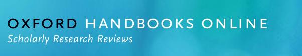 Oxford Handbooks Online Logo