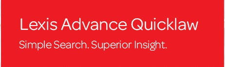 Lexis Advance Quicklaw Logo