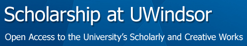 Scholarship at UWindsor Logo