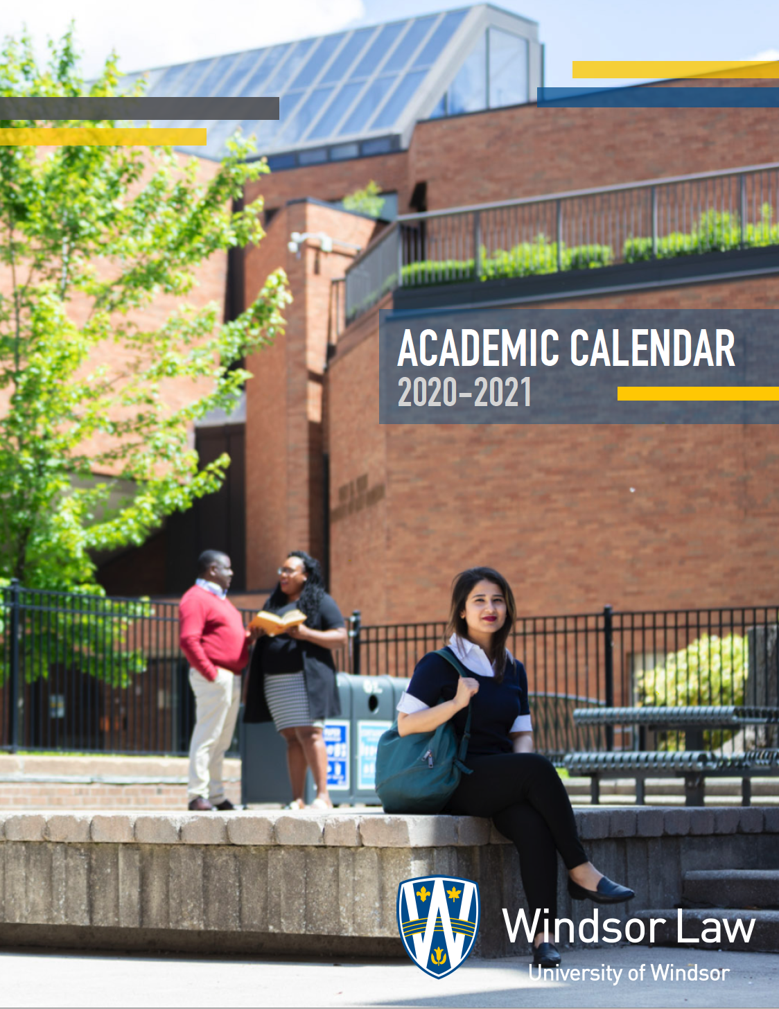 Academic Calendar Cover Page