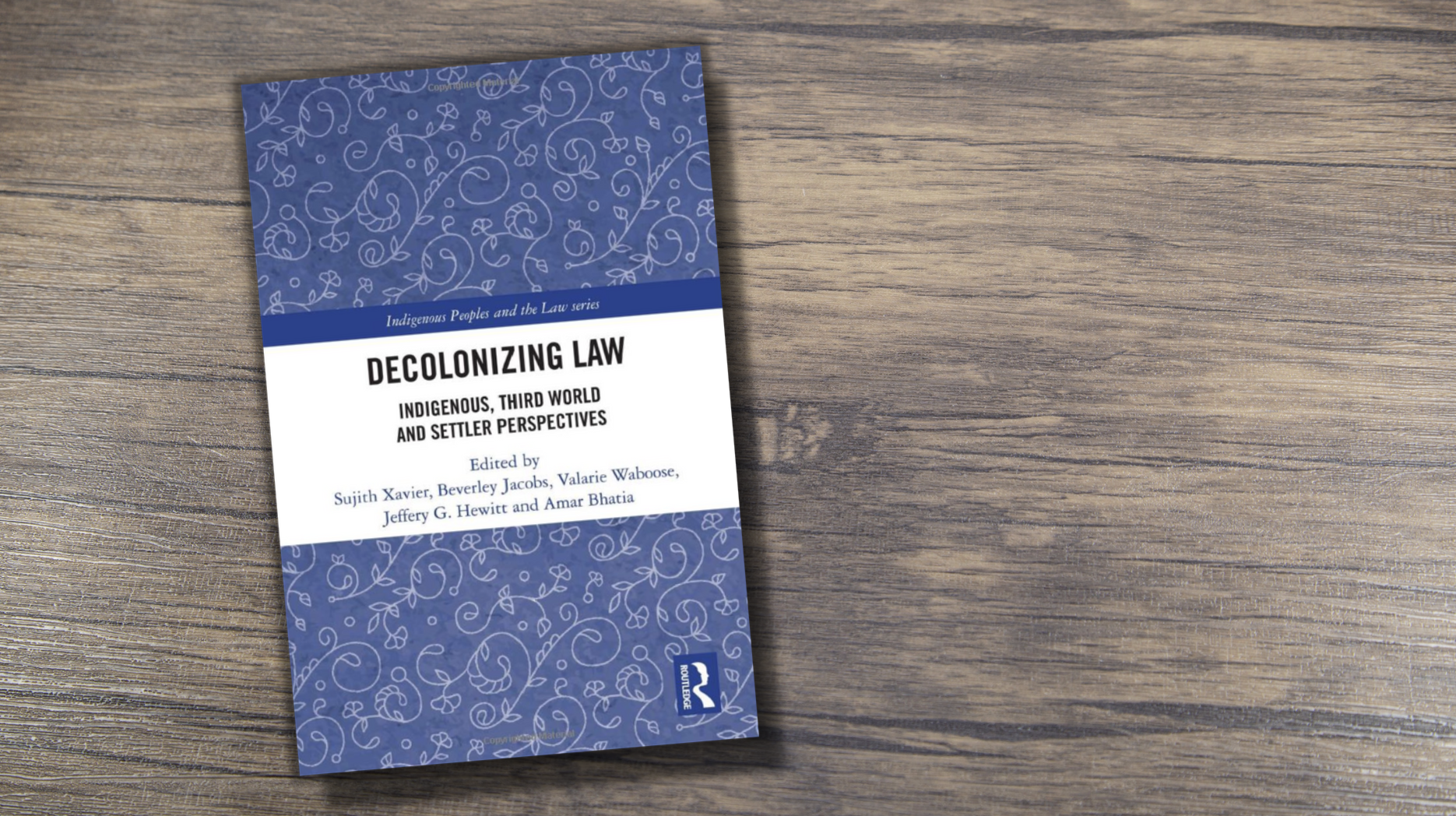 Decolonizing Law book cover