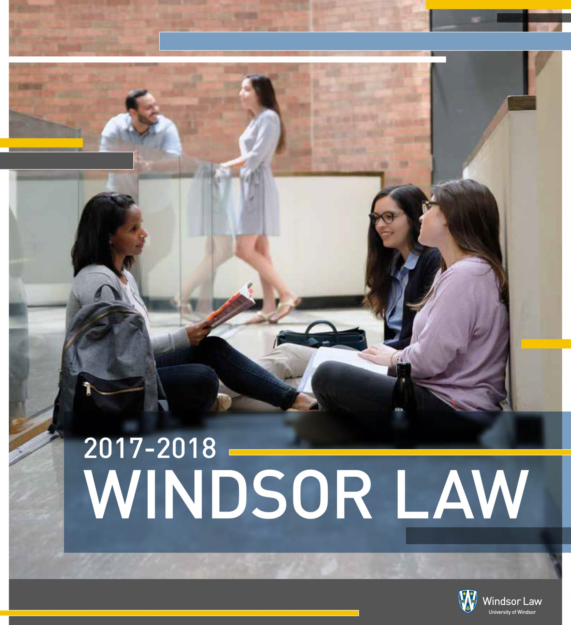 Cover of Windsor Law 2017 -2018 Prospectus