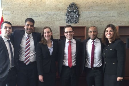Bowman Moot Team