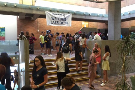 Upper Commons First Day of Class 2016