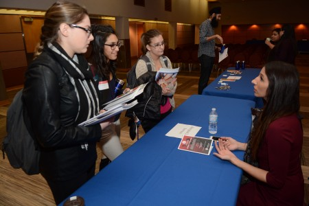 Students at the 2017 Justice at Work Conference