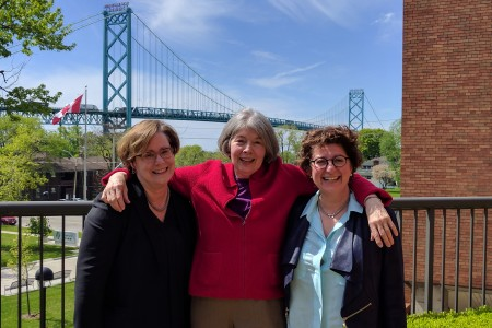 Windsor Law Professors, Marcia Valiante, Maureen Irish and Myra Tawfik