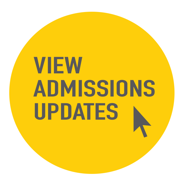 View Admissions Updates