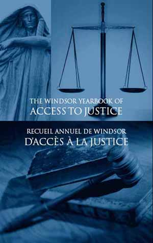 Windsor Law Review Sample homepage
