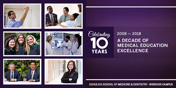 A decade of medical education excellence