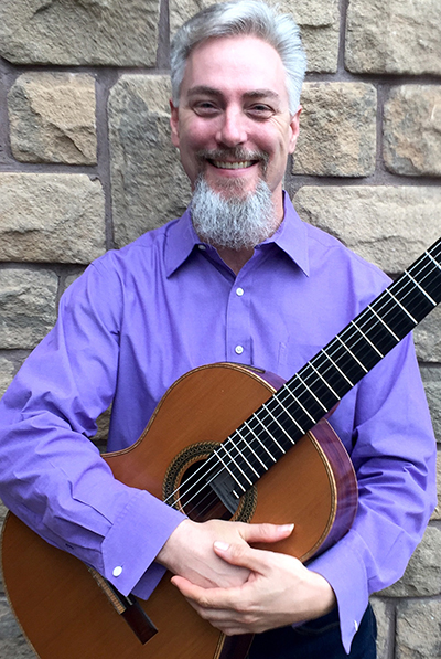 UWindsor classical guitar instructor Michael McNamara
