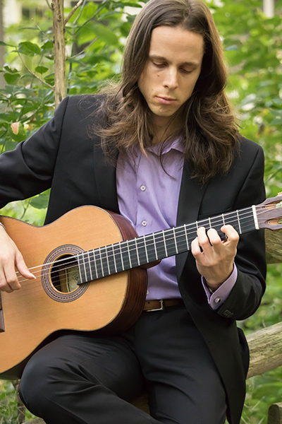 Classical guitarist Michael Pare