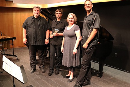 SoCA music faculty members Bruce Kotowich, Nicholas Papador, Jennifer Swanson and Trevor Pittman and more are performing on Saturday's Concert
