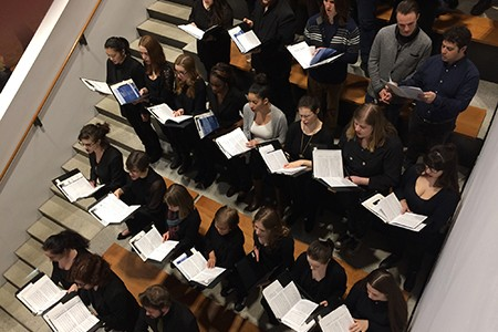 UWindsor Choirs perform during the SoCA Armouries official opening festivities