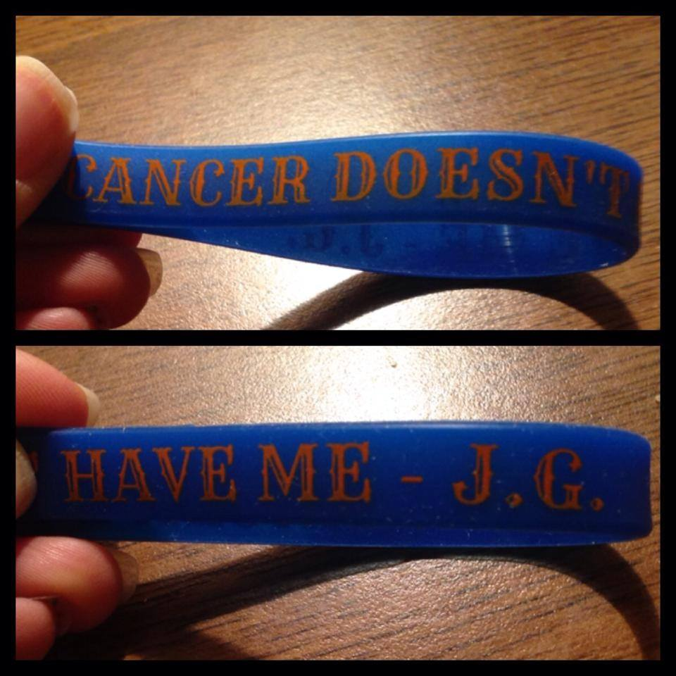 rubber bracelet with quote