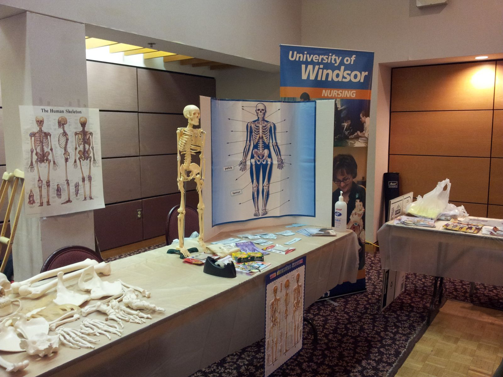 nursing display - other view