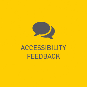 Accessibility Feedback button