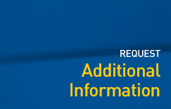Request additional information - graphic button