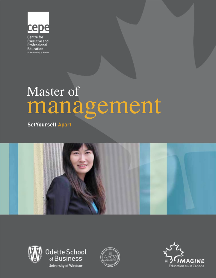 Master of Management Booklet