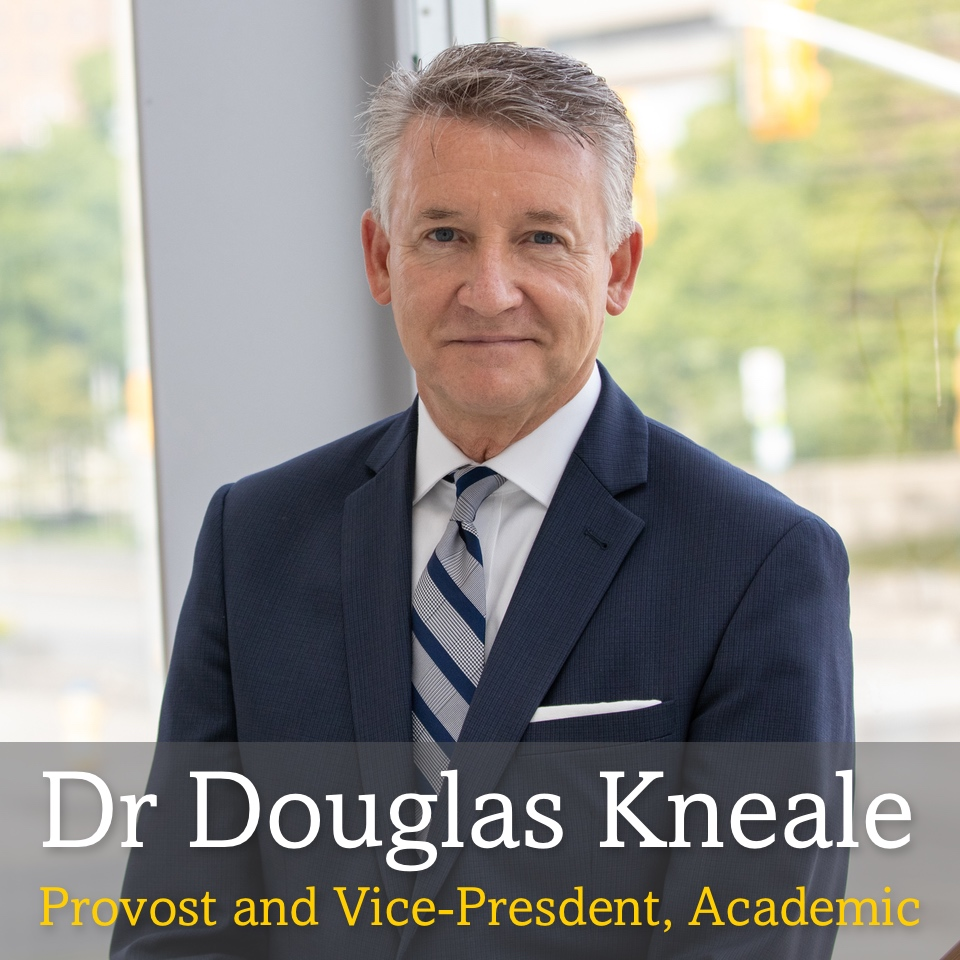 Mobile main image. Headshot of Douglas Kneale