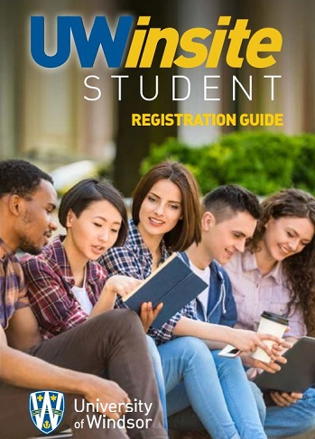 UWinsite Student Registration Guide cover