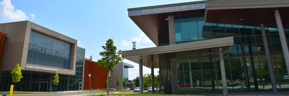 Image of the Joyce Entrepreneurship Building exterior