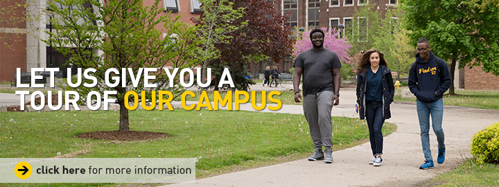 Let us give you a tour of our campus