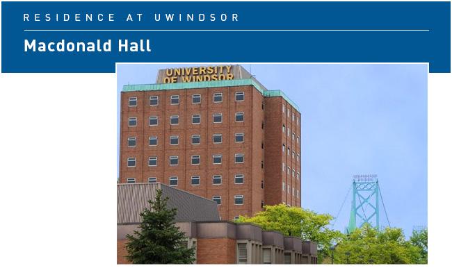 Macdonald Hall building