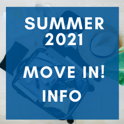 moving in! summer 2021