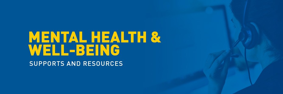 Mental Health Supports and Resources Banner