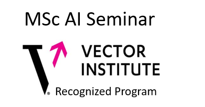 Vector Institute AI approved Seminar logo