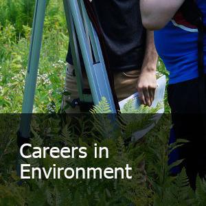 Careers in Environment