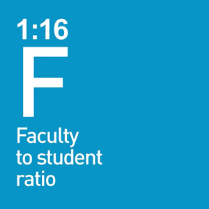 1:15 Faculty to Student Ratio - 38 Programs and degrees
