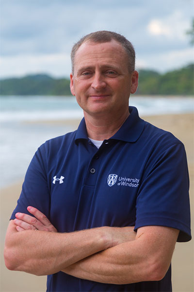 Chris Houser, Dean of Science