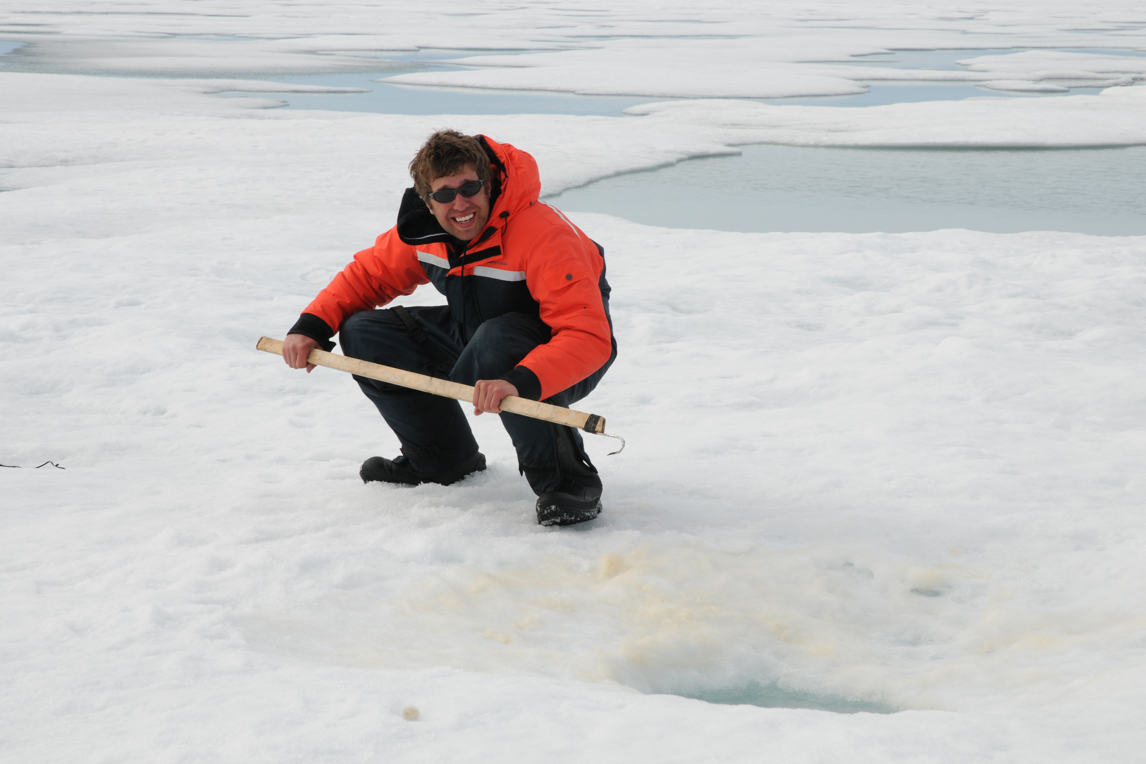 Student finds climate change impacts ringed seal behavior