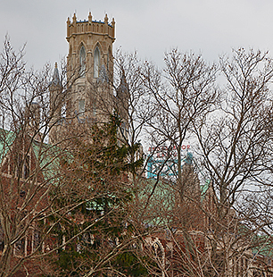 cupola of Dillon Hall