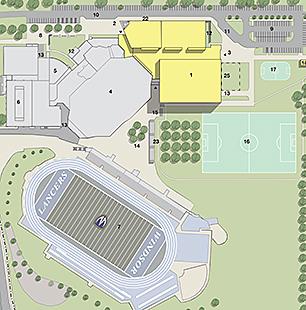 LSRC site plan