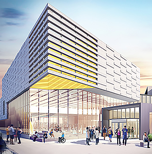 Lancer Sport and Recreation Centre artist's concept