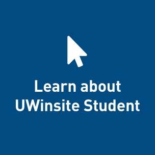 Learn about UWinsite Student