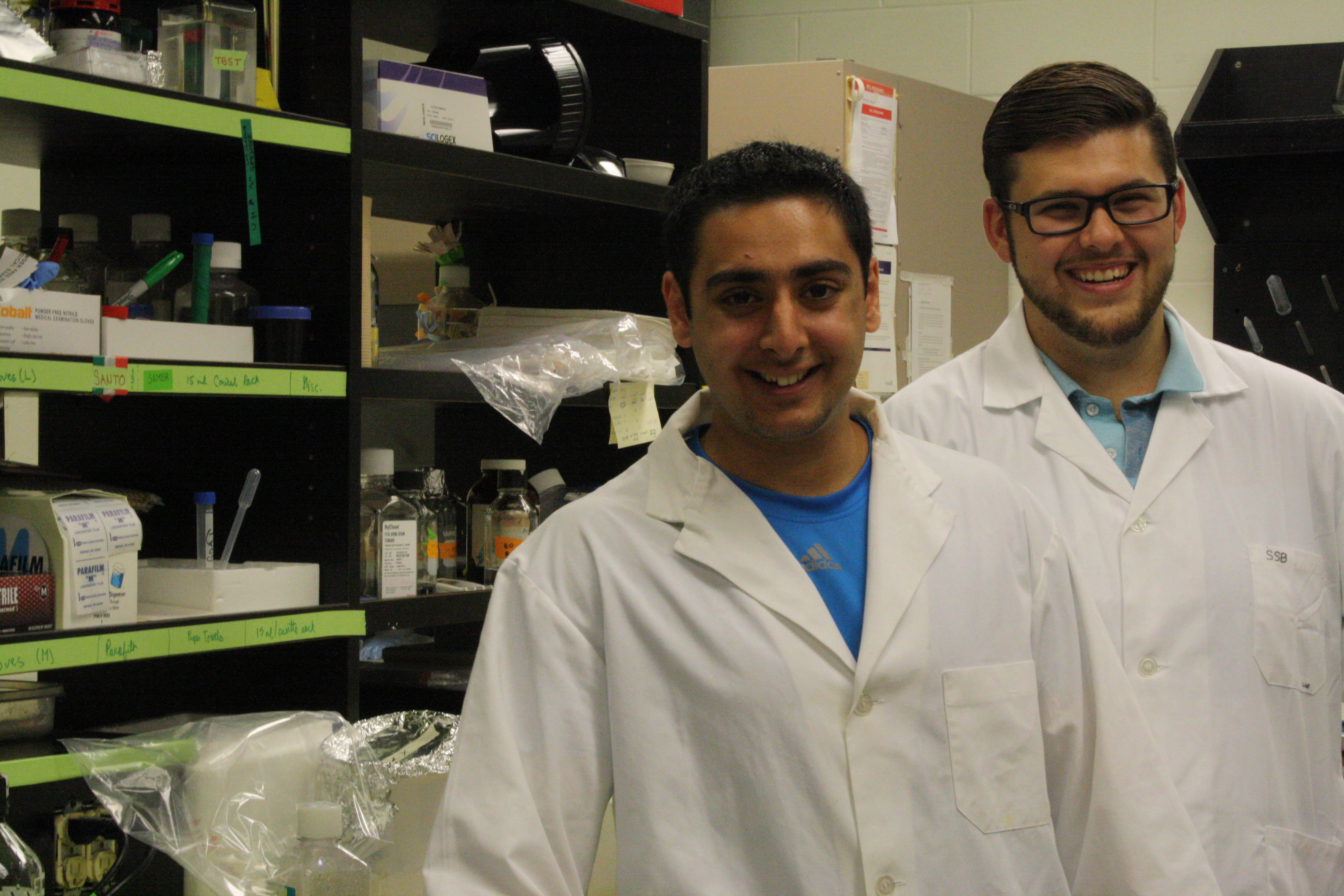 Biology students to share their brain cancer research results at fundraising walk