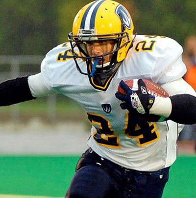 Record-setting running back Daryl Stephenson of Lancer football is one of four inductees who will join the Alumni Sports Hall of Fame on September 30.