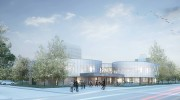 architecural rendering of Welcome Centre