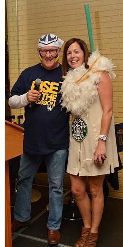Bob Orr with Stephanie Parent
