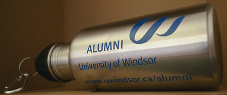 Alumni water bottle