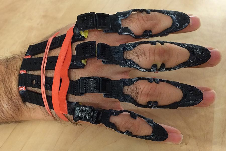 hand brace prototype